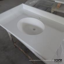 Remise de comptoir / plan de travail en acrylique à surface pleine