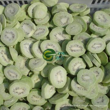 Tranches de kiwi surgelées IQF de haute qualité