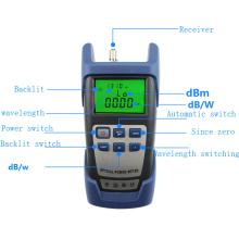 in stock AUA9 mini fibra cable laser power machine,detector testing machine aua-9