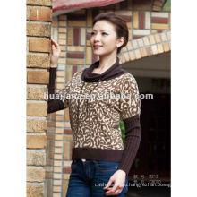 Зима 80% кашемир женщин свитер