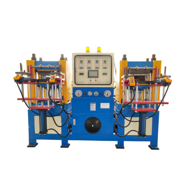 Machine hydraulique à double tête automatique de tapis de barre de silicone