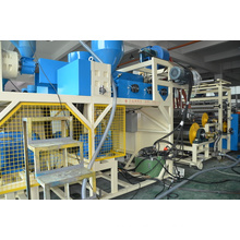 Jumbo Yield 1500mm Multi-layers Stretch Film Machine