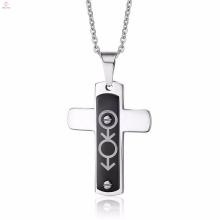 Personalizado religiosa masculino e feminino símbolo religioso pingente de cruz jóias