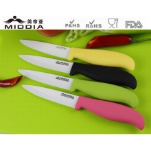 Colored Kitchen Appliance Ceramic Fruit Knife