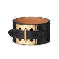 Bracelete de couro acessório para homem pulseira de couro