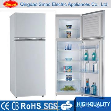 Compressor Double Door Refrigerator Freezer for Home Use