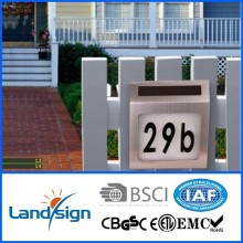 2015 new mordern outdoor solar lamp house number sign light series outdoor led wall light