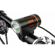 Outdoor High Quality Powered 1 * Xm-L T6 / L2 LED Range Adjustableable Rechargeable Bycicle / Bike LED Light