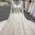 Robes de mariée robe de mariage perlées lourdes