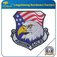 Remiendo 100% personalizado del diseño del águila del bordado