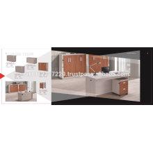 Spanplattenmöbel - Büromöbel Set 3