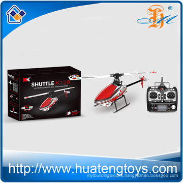 2016 pro remote control helicopter XK k120 6ch flybarless brushless motor single blade 3D6G system long range rc helicopter