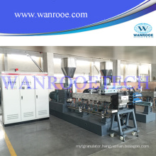 Pet Bottle Flakes Recycle Granulator Production Line