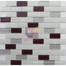 23*48mm Shining Powder Glossy Glass Decoration Mosaic (CFC606)
