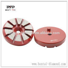 3 inch round metal diamond grinding tools