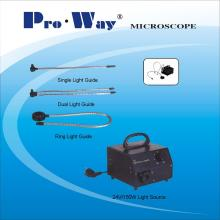 Microscope Accessory Cold Light Source & Optical Fiber Light Guide
