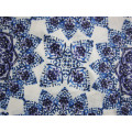 75D bedrucktes Polyester Crepe Chiffon Stoff für Kleid