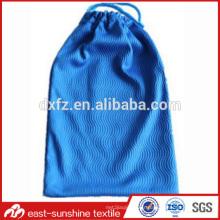 Sac de nettoyage à lunette en microfibre à chaud, sac à main personnalisé pour lunettes de soleil