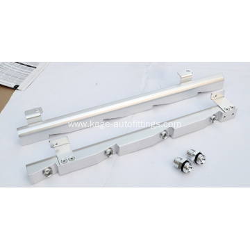 Fuel system fuel rails