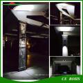 Напольный Беспроволочный 400 Люмен RGB 8led Солнечный приведенный в действие светодиодный Прожектор, двойной головкой Водонепроницаемый гибкий настенный свет сада