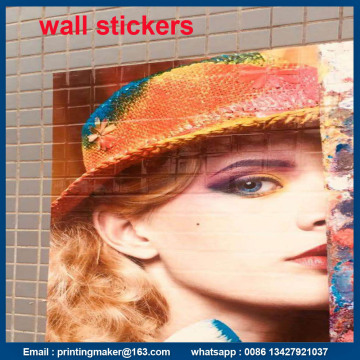Custom Vinyl Wall Stickers with Adhesive
