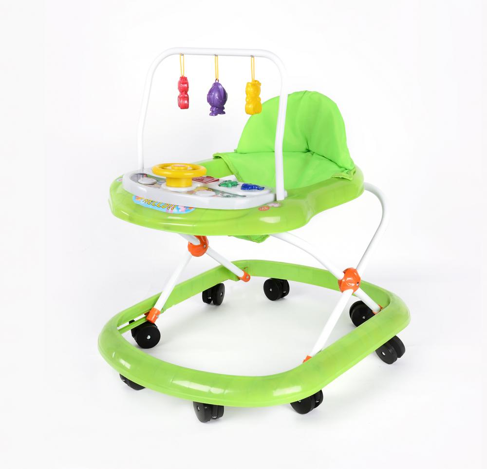 Economic Plastic Baby Walker with Music