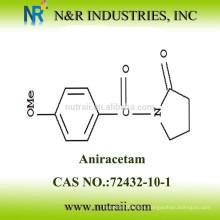 Polvo Aniracetam de alta cantidad CAS NO 72432-10-1