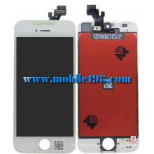 Pantalla LCD de repuesto con panel táctil para iPhone 5 blanco
