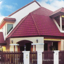 High Strength Synthetic Terracotta Roof Tile on China Market