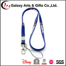 High Quality Wholesale Silicon Printed Lanyard with Card Holder