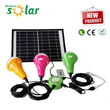 Verkaufsfähigen CE solar home Notbeleuchtung mit LED-Lampen für Heim und camping