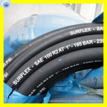 Steel Wire Multispiral High Pressure Oil Hose