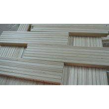 Slats de madeira da cama curvada