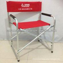 Aluminum frame Folding Director Chair, folding aluminum chair