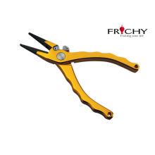 Multi Function Professional Aluminum Alloy Fishing Tools P Line Pliers 191mm