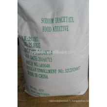 Diacétate de sodium de qualité alimentaire N ° CAS26-96-5