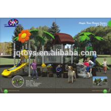 Nuevos niños al aire libre de plástico mágico Parque Parque de diversiones