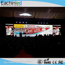 Panneau visuel mené d'intérieur de HD P2.5 / mur mené d'intérieur de fond de TV / conduit p2.5