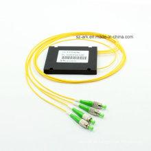 Fibra óptica Fbt Splitter con conectores FC / APC