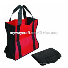American style non woven tote bag with long handle