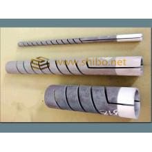 Éléments de chauffage Spiral Sic Heater conçus pour supporter des températures plus élevées