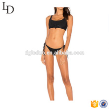2017 Women hot open ladies mature swimsuit thong bikini