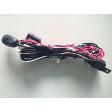 Универсальный жгут проводов и переключатель Комплект для автомобиль грузовик Противотуманные фары/дальнего света