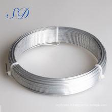 Fil galvanisé par électro de prix bas de 3.15mm 0.9mm