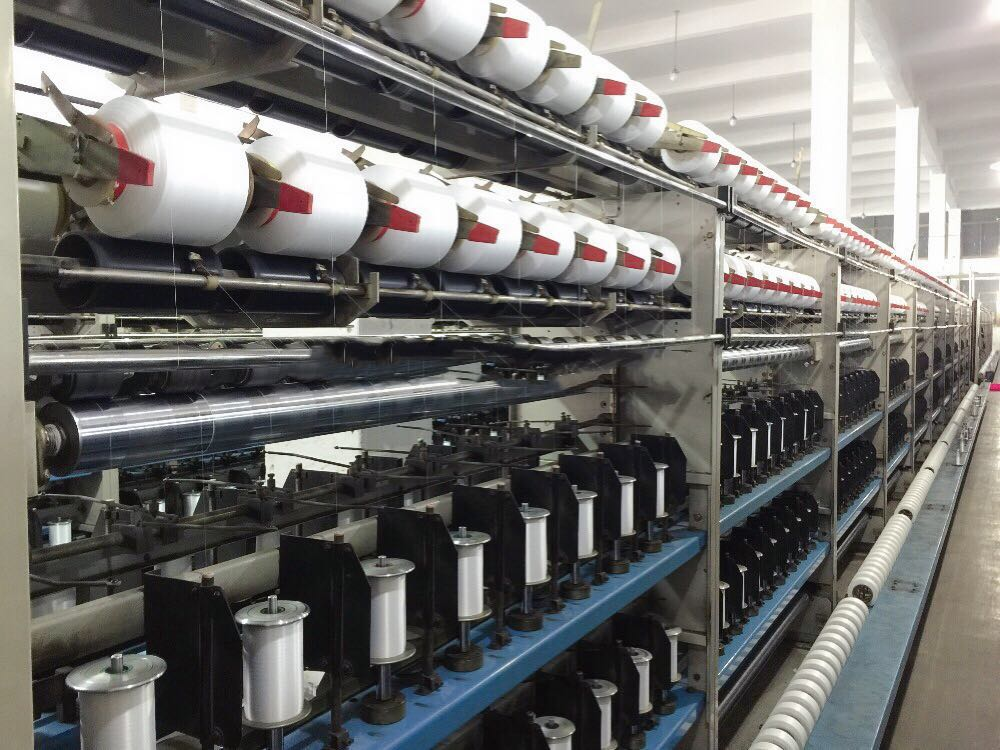 lycra yarn covering machine