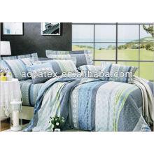 Conjunto de roupa de cama em microfibra 100% poli
