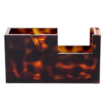Tortoiseshell Acrylic Tape Dispenser