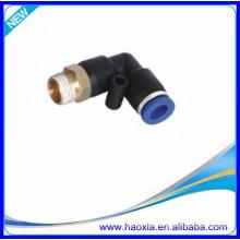 China Wholesale plástico pneumático fêmea cotovelo cotovelo PL montagem