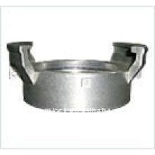 Couplage en guillemin d'aluminium sans loquet