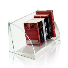 Transparent Acrylic Books Display Holders, Perspex Book Display Stands